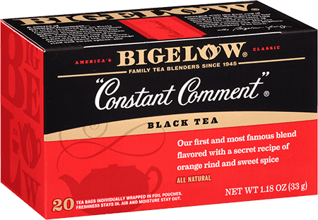 Case of 6 constant comment black tea bigelow tea