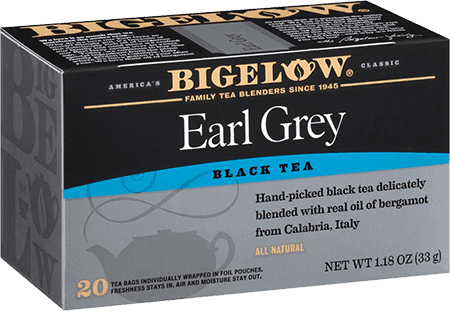 Earl grey black tea bigelow tea bigelow tea