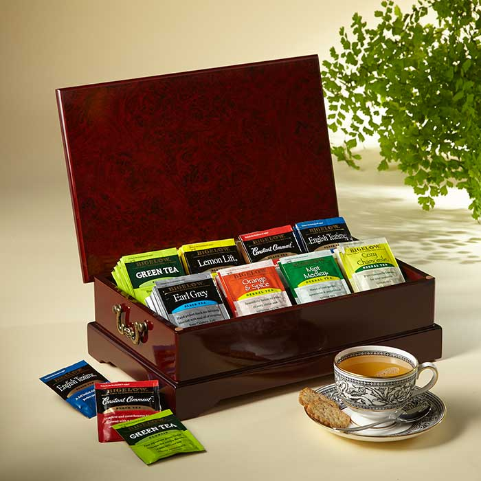 Classic tea chest bigelow tea