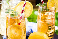 Iced Tea Cubed using our new Half and Half Iced Tea and Lemonade