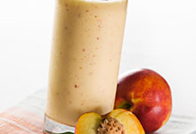 Just Peachy Smoothie