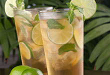 Plantation Mint Punch with Lime