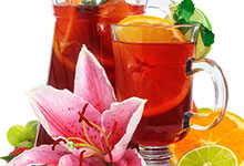 Sangri–Tea-ahhhh Iced Tea Lemonade (Red)