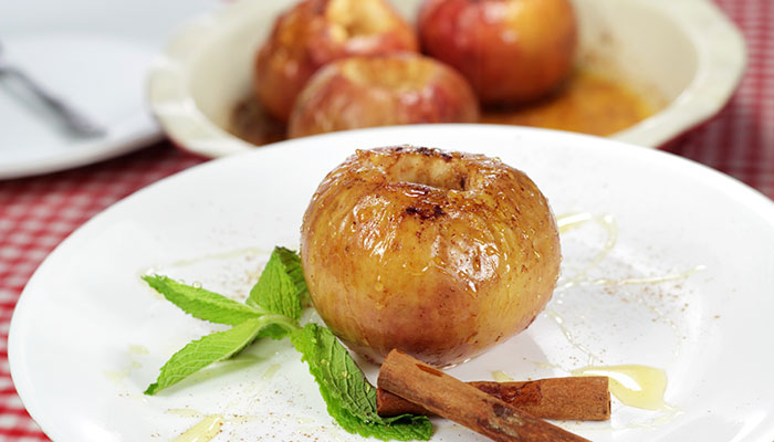 Bigelow® Cinnamon Stick® Baked Apples