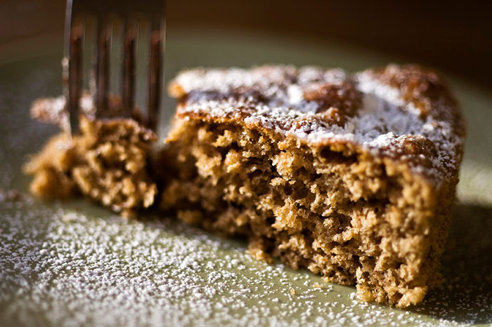 Constant Comment Spice Cake