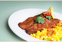 Baked Catfish Fillets with Lemon Lift® Tea Shallot Glaze