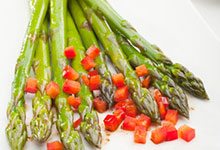 Asparagus Salad with Earl Grey Tea Vinaigrette