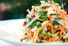 Jicama Salad with Citrus-Poppy Vinaigrette