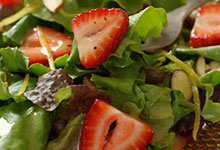 Spinach Salad Spectacular with Raspberry Vinaigrette