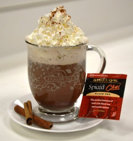Spicy Chocolate Chai Tea