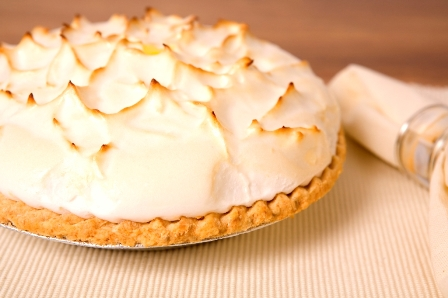 Bigelow Earl Grey Meringue Pie
