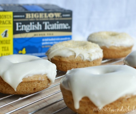 Teatime Baked Donuts