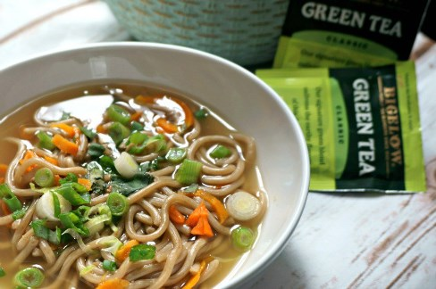 Green Tea Ramen Soup