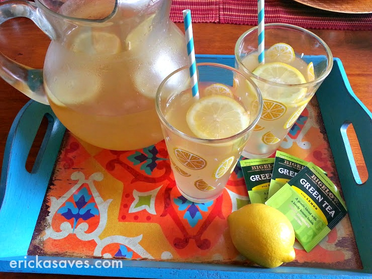 Easy Green Tea Lemonade