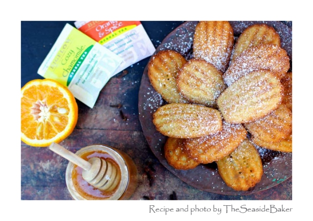 Orange Spiced Madeleines